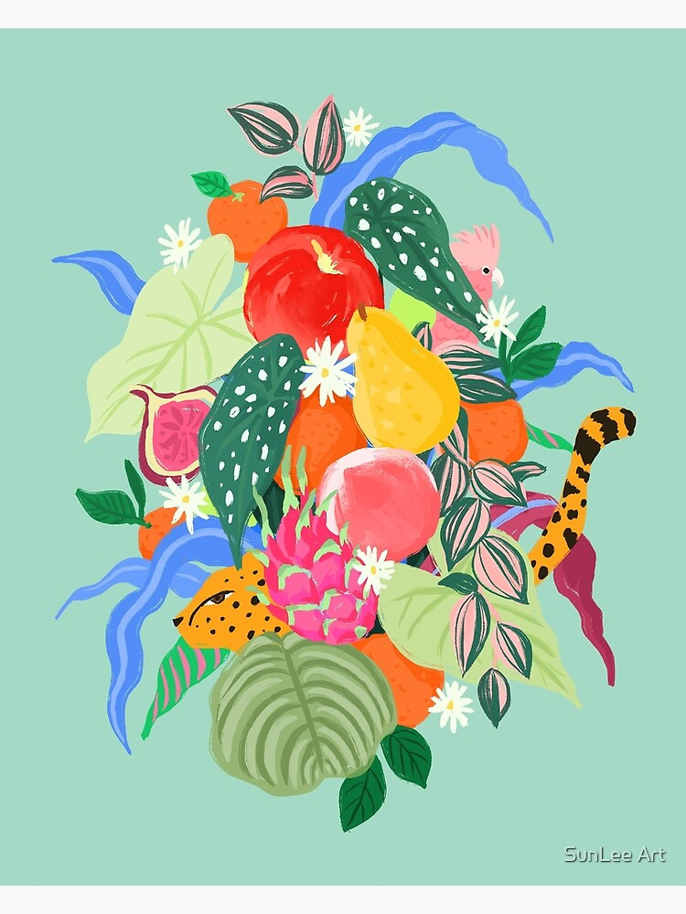 Fruits and Jungle Combo by sunleeart