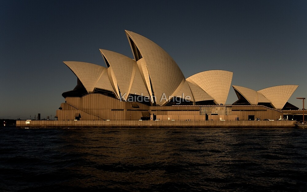 The Sydney Opera House by Kaiden Angle