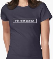 Pop Punk Sad Boy Womens Fitted T-Shirt