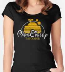 Mos Eisley - Tatooine Women's Fitted Scoop T-Shirt