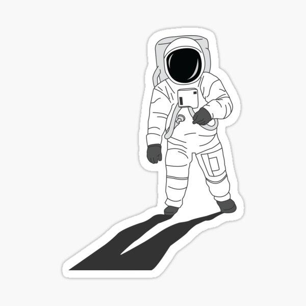 Man on the Moon NASA Space Astronaut Apollo 11 Sticker