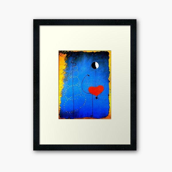 Miro's Dancer #30 Framed Art Print