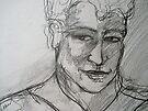Reynaldo Drawing 2 by Anthea  Slade