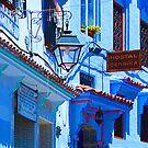 Blue City VI by Didi Bingham