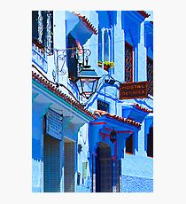 Blue City VI Photographic Print