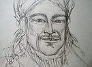 Reynaldo Drawing 3 by Anthea  Slade