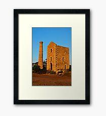 Hughes Wheelhouse Framed Print
