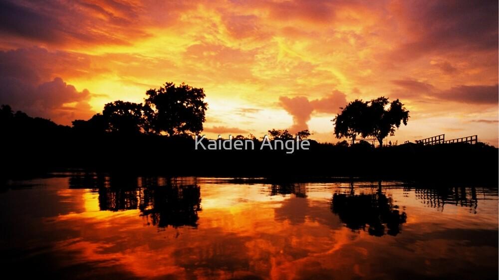 Mediterranean Sunset by Kaiden Angle