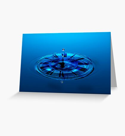 Time is nearly up Greeting Card