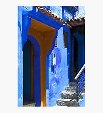 The Blue City VIII Photographic Print