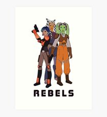 Rebels Art Print