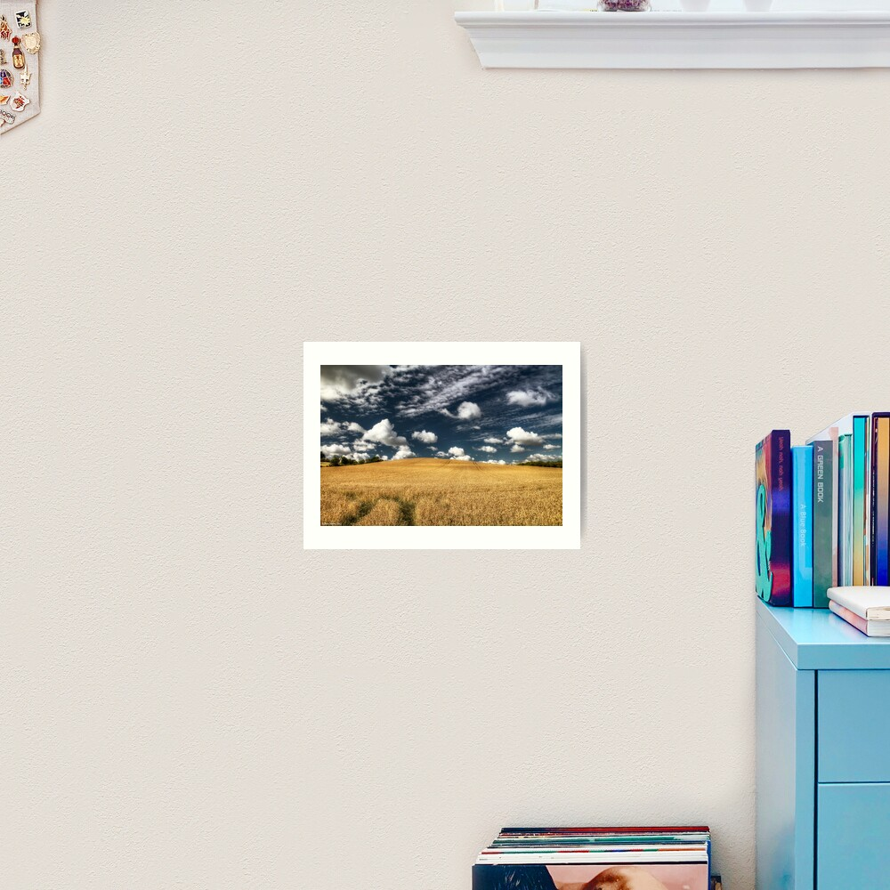 not uncropped? Art Print
