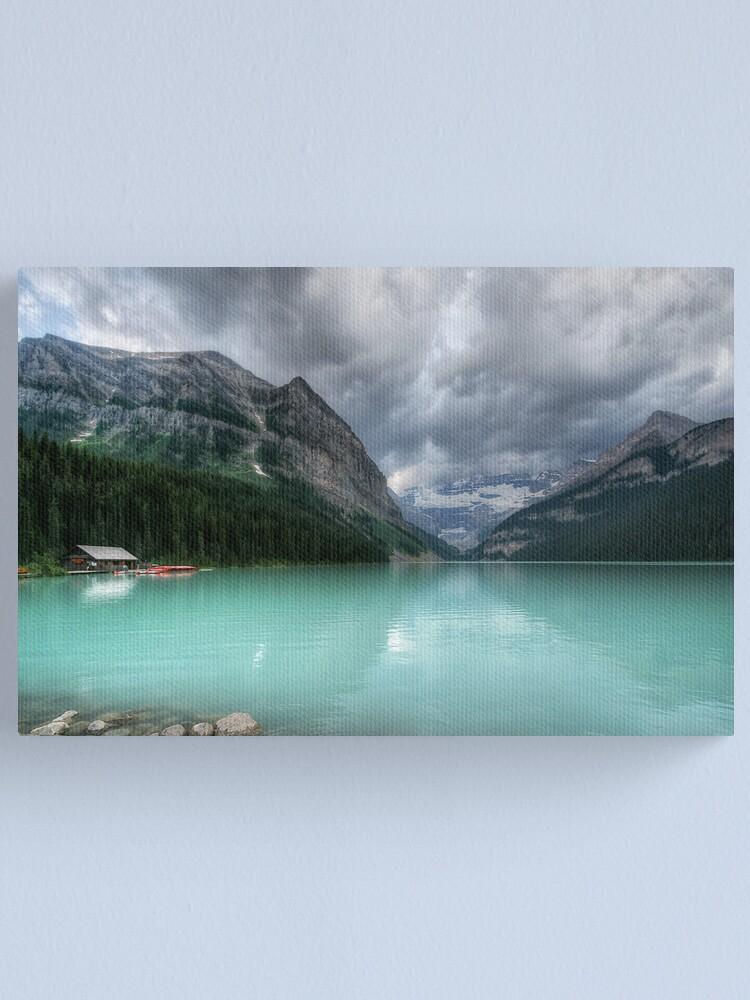 Alternate view of Lake Louise Canvas Print