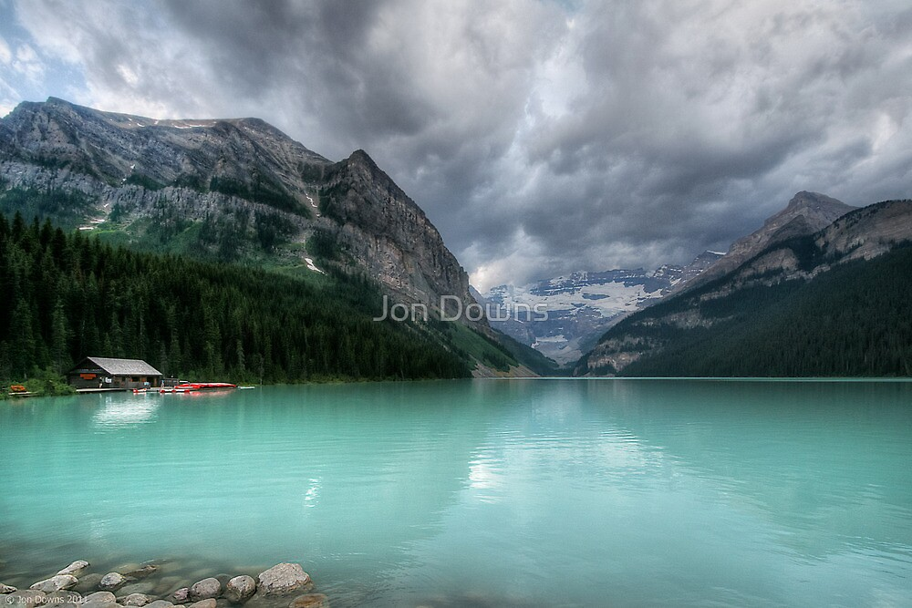 Lake Louise by Jon Downs