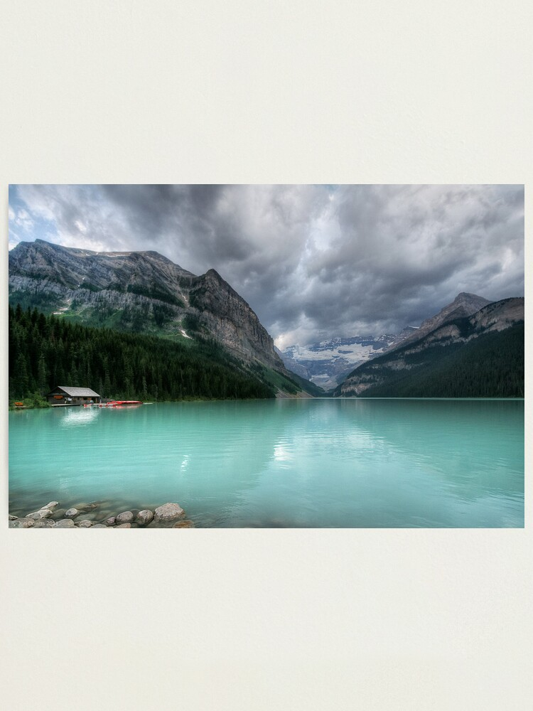 Alternate view of Lake Louise Photographic Print