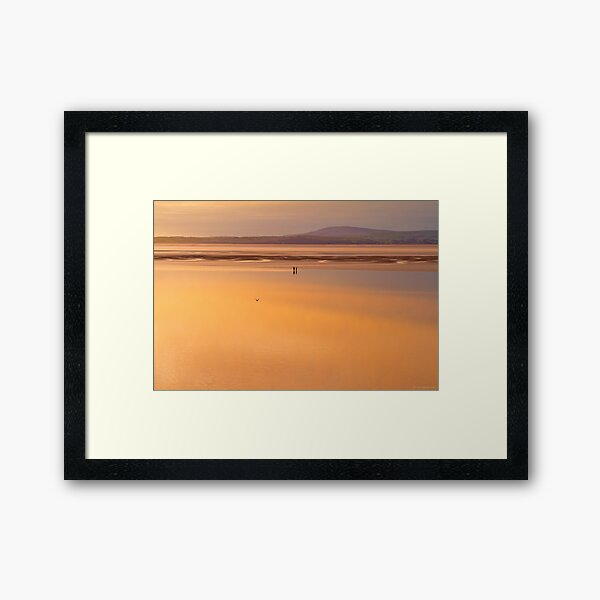 are you sure that this is where we parked the car? Framed Art Print