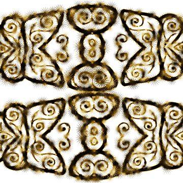 African Tribal Design by Bubblegum73