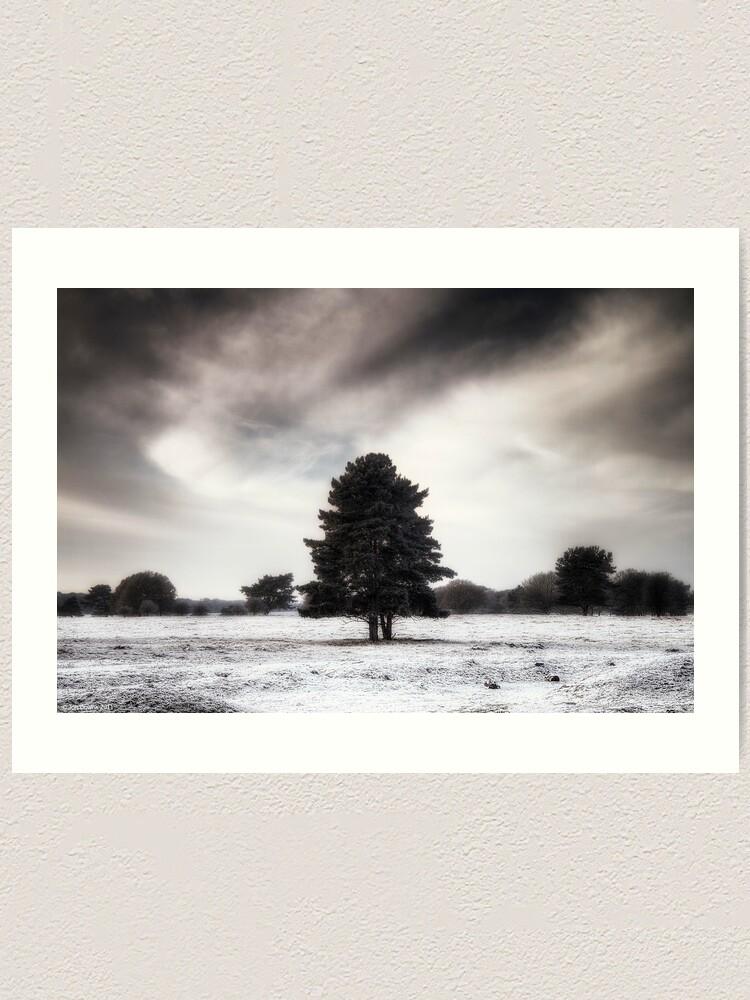 Alternate view of Winter in Elveden Art Print