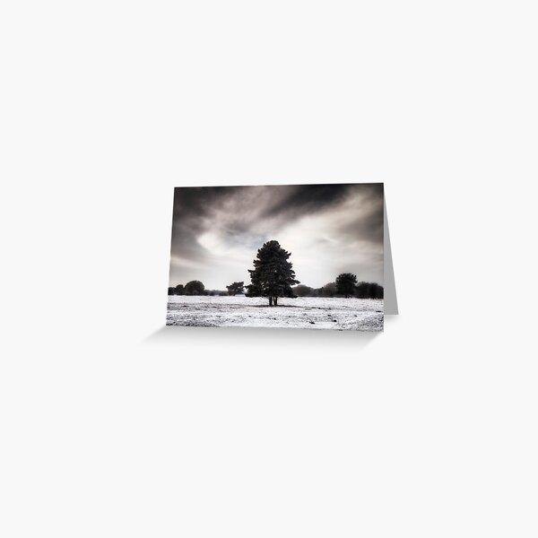 Winter in Elveden Greeting Card