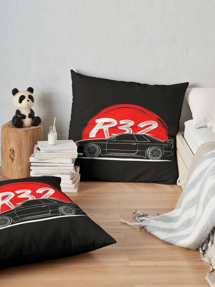 Alternate view of R32 GTR Floor Pillow