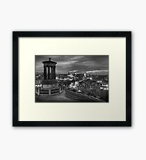 Edinburghs View Framed Print