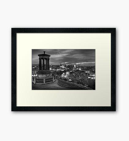 Edinburghs View Framed Print