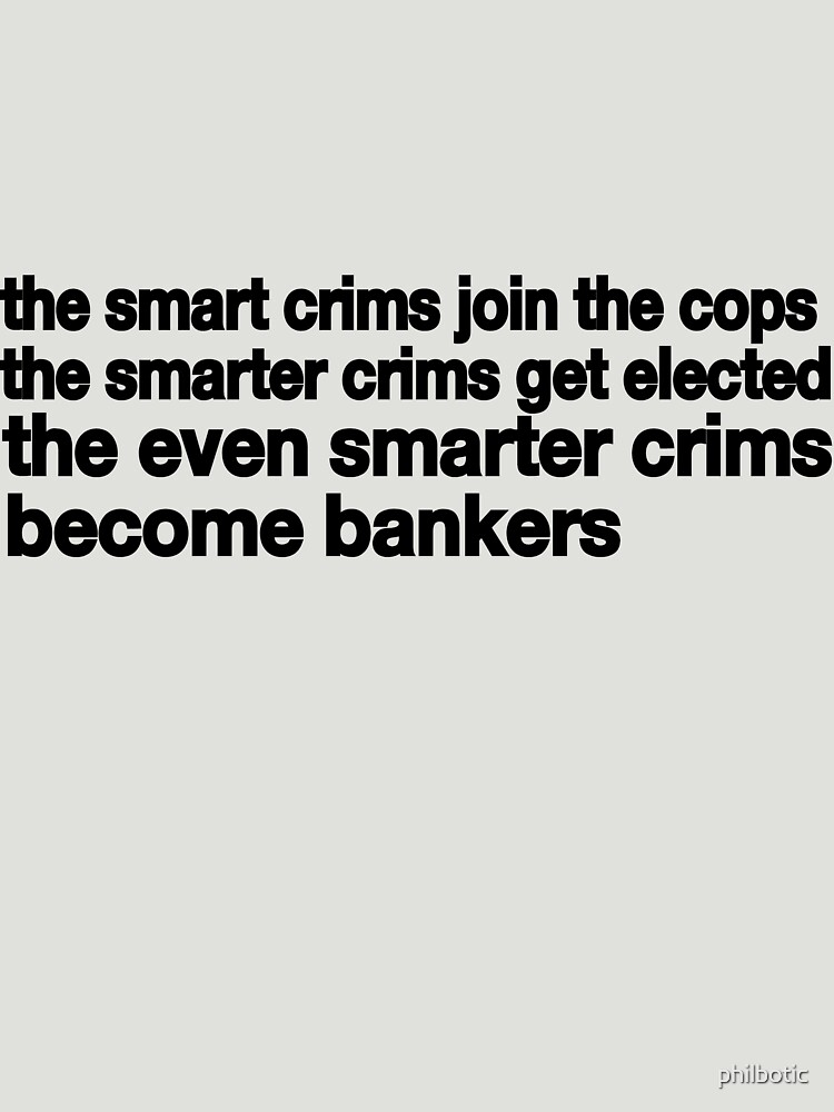 Smart Crims by philbotic