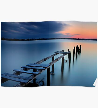 Deserted Sunset Poster