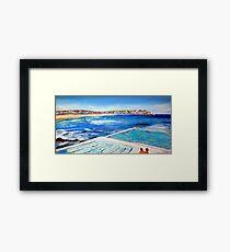 Bondi Icebergs (No 3) Framed Print