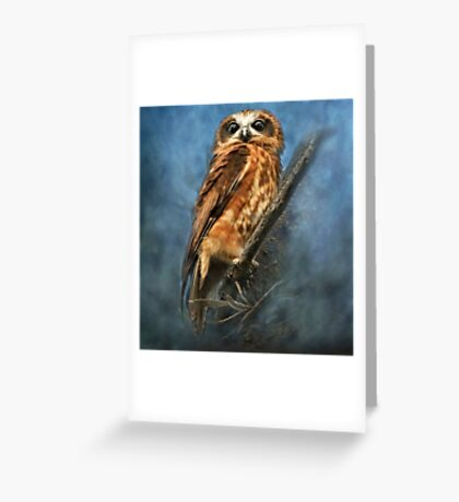 """""""Eyes Wide Open"""" Greeting Card"""