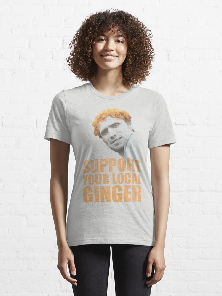 Alternate view of Support Your Local Ginger Essential T-Shirt