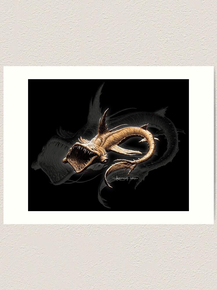 Impression artistique ''Dragon des abysses': autre vue