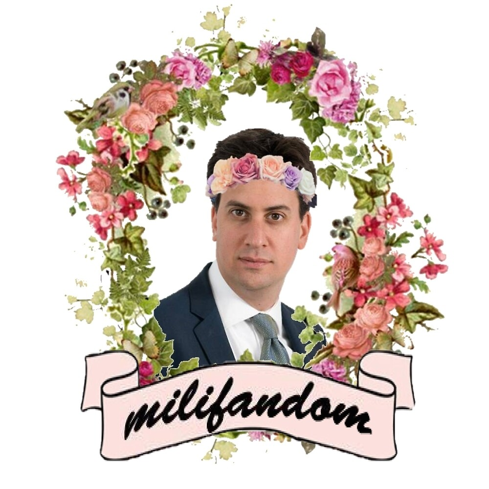 Ed Miliband 'Milifandom' T-shirts, phone cases + more by ghxsthunter