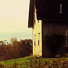 Sundrenched Farmhouse by Patty Gross