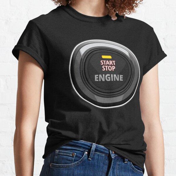 Engine start stop button. Classic T-Shirt