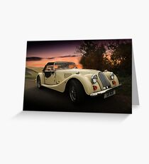 Morgan sunset Greeting Card