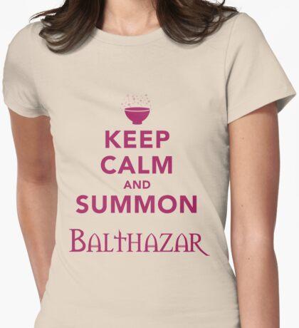 Keep Calm and Summon Balthazar [Violet] T-Shirt