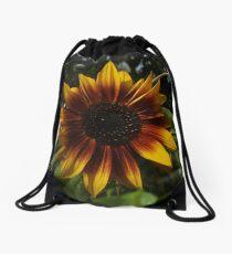 A Flower In Full Bloom Drawstring Bag