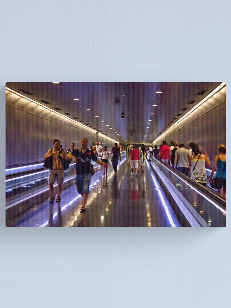 Alternate view of Barcelona Underground Canvas Print