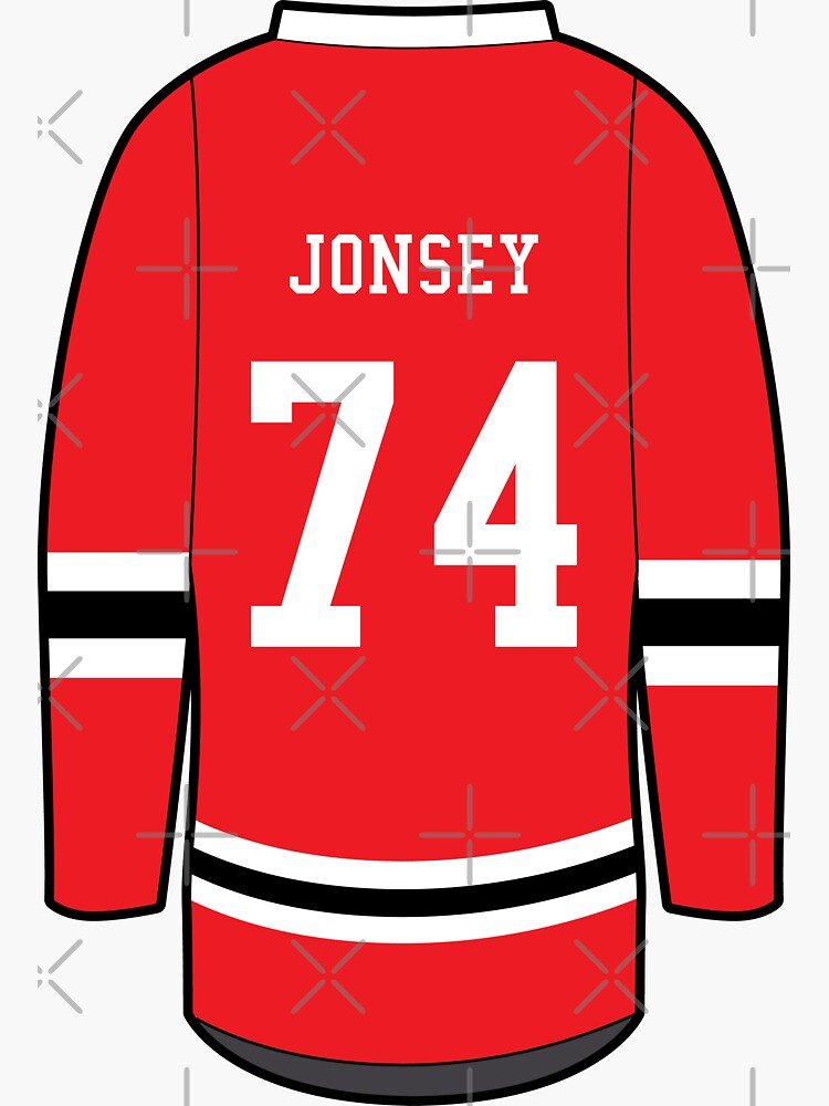 Jonesy - Letterkenny Irish Hockey Jersey #74 by brainthought