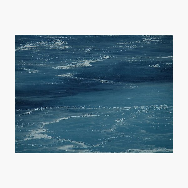 Turmoil in the Aegean Photographic Print