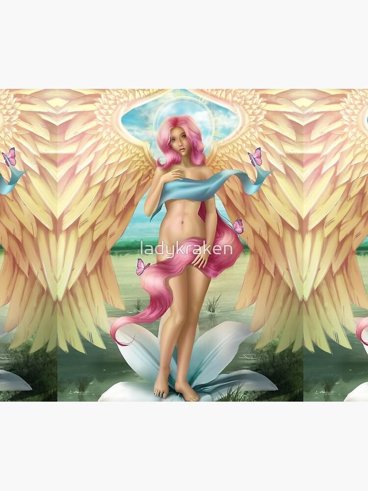 Birth of a Shy Angel by ladykraken