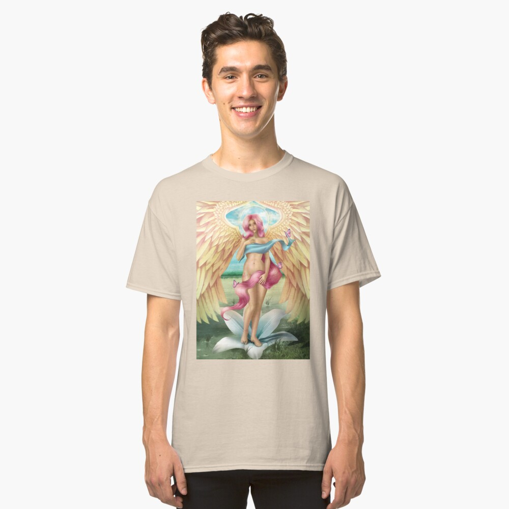 Birth of a Shy Angel Classic T-Shirt