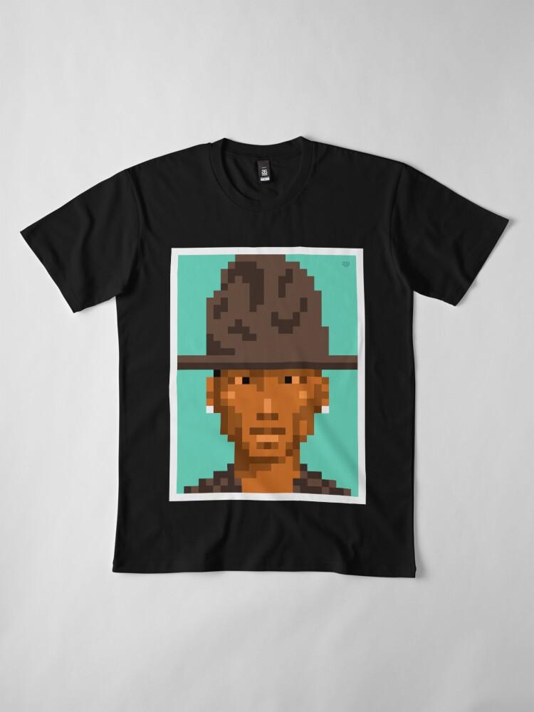 Alternate view of His tunes Premium T-Shirt