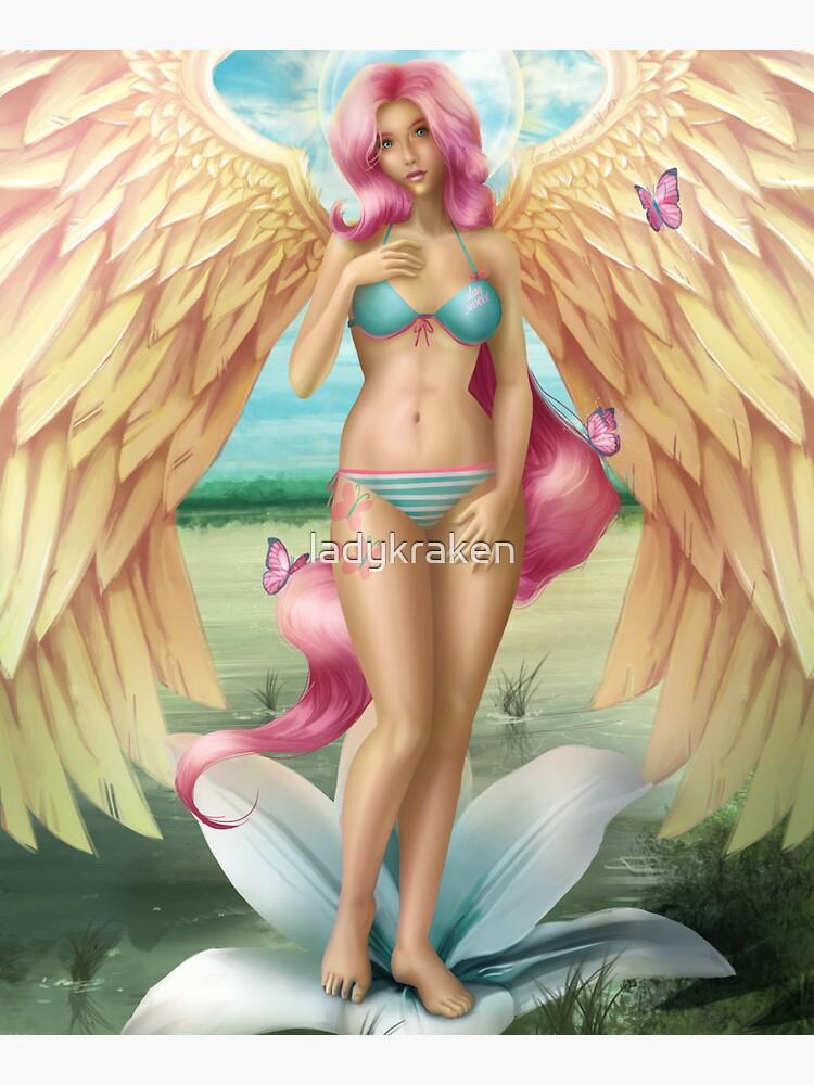 Birth of a Shy Angel Pantsu by ladykraken