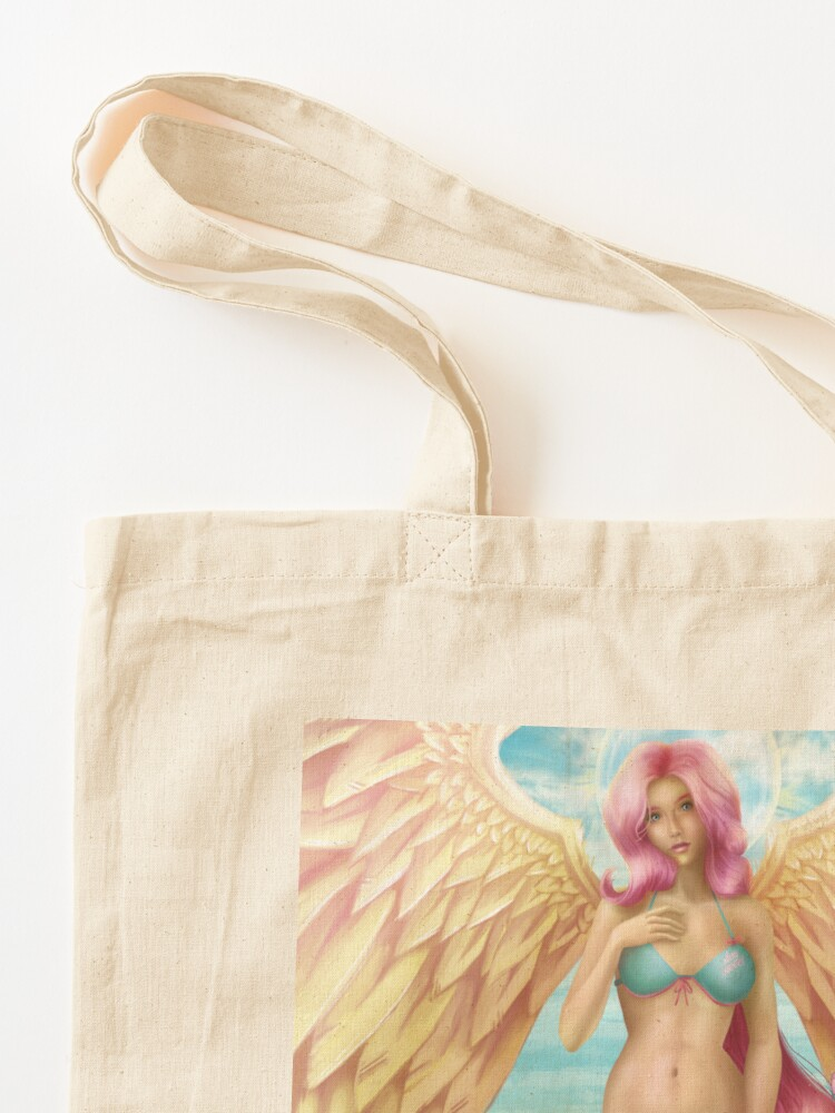 Alternate view of Birth of a Shy Angel Pantsu Tote Bag