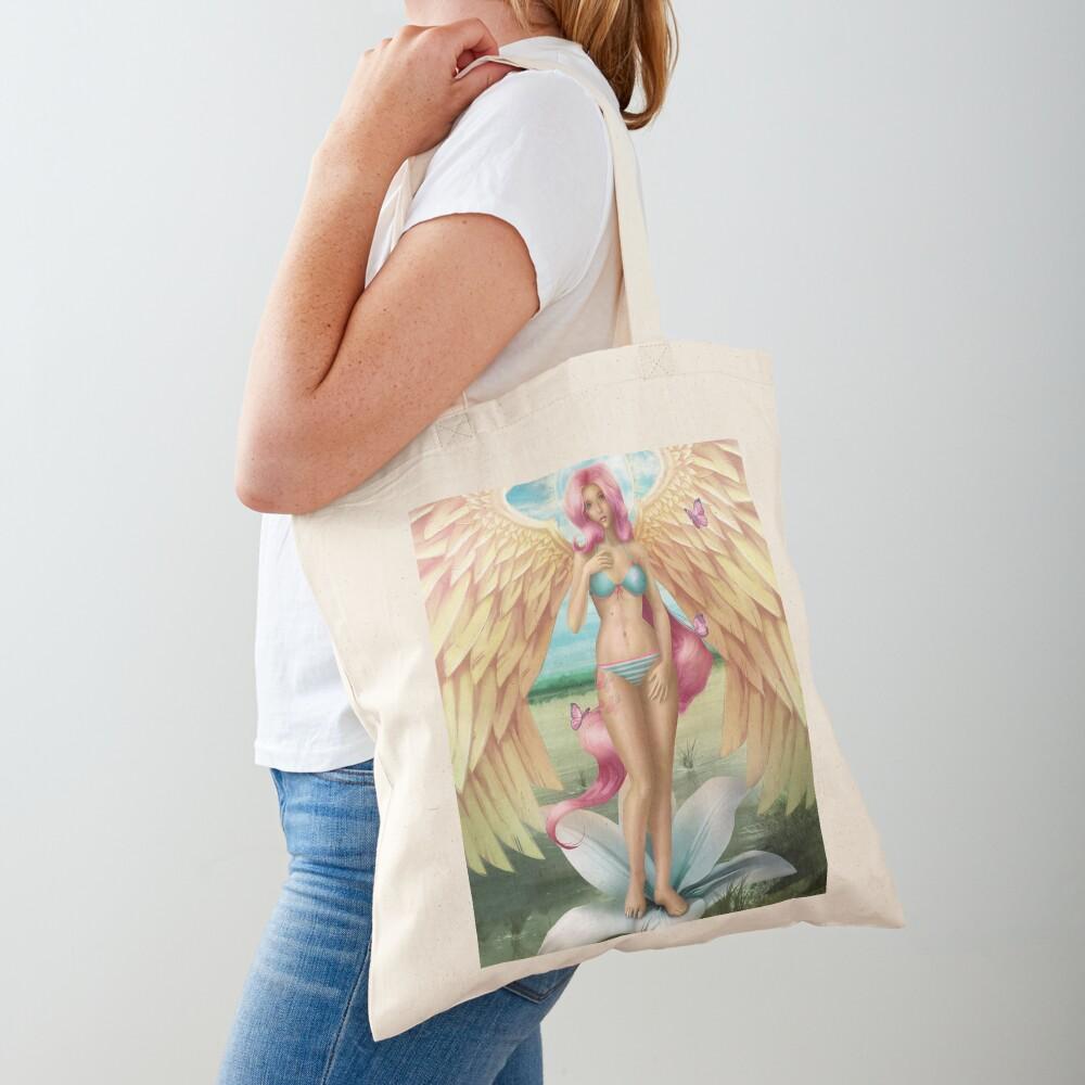 Birth of a Shy Angel Pantsu Tote Bag
