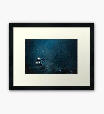 A Train for the Holidays Framed Print