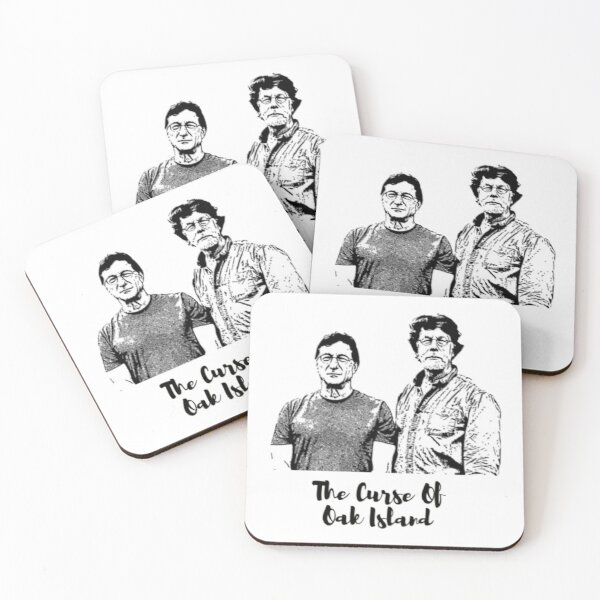 Rick and Marty Lagina Coasters (Set of 4)