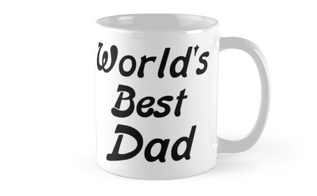 world s best dad mugs by pingustees redbubble